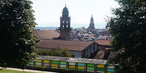 Margaret, California - French Way guided tour from Sarria to Santiago