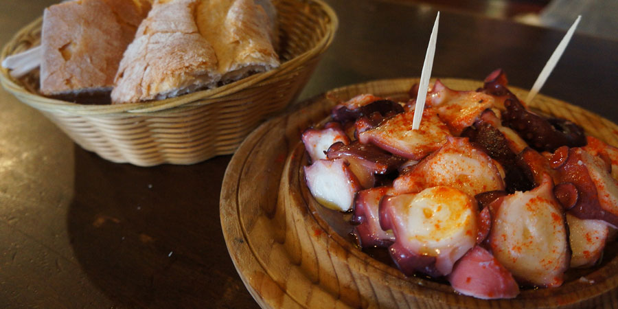 octopus-pulpo-food-camino-de-santiago-caminoways