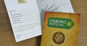 Camino Pilgrim Passport, Camino Certificate and Compostela.