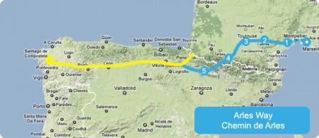 map-camino-arles-way