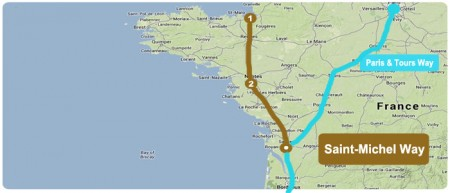 map-camino-mont-saint-michel-way