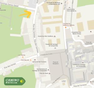 new-pilgrim-office-santiago-de-compostela-map-caminoways