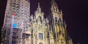 santiago cathedral-night-caminoways.com
