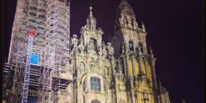 santiago cathedral-night-caminoways.com