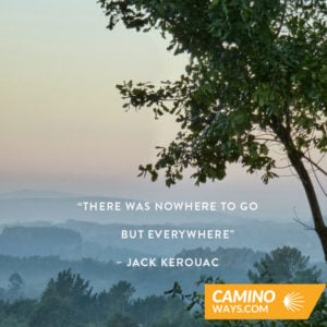 kerouac- walking quotes
